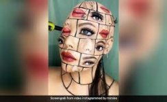 Check Out Video of Makeup Artist's Mind-Blowing Face Art that internet is talking about.jpg